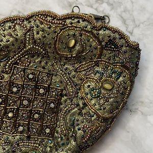 VINTAGE | Beaded shoulder bag